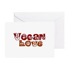 Vegan Love Greeting Card