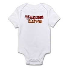 Vegan Love Infant Bodysuit