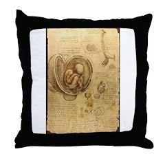 foetus Throw Pillow