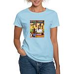 Knitting Bunny Rabbit Women's Light T-Shirt