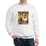 Knitting Bunny Rabbit Sweatshirt