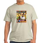 Knitting Bunny Rabbit Light T-Shirt