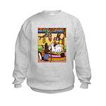 Knitting Bunny Rabbit Kids Sweatshirt
