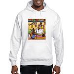 Knitting Bunny Rabbit Hooded Sweatshirt
