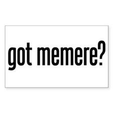 got memere? Rectangle Decal