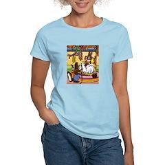 Easter Bunny Knitting T-Shirt