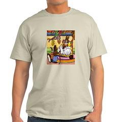 Easter Bunny Knitting Light T-Shirt