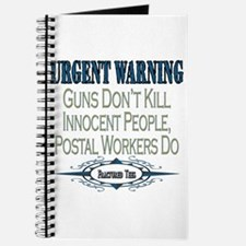 Urgent Warning Journal