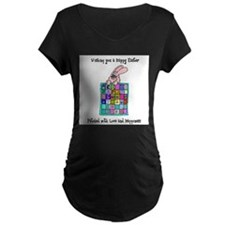 Happy Easter Bunny Quilt T-Shirt