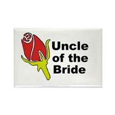 Uncle of the Bride Rectangle Magnet