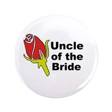 "Uncle of the Bride 3.5"" Button"