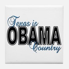 Texas Is Obama Country Tile Coaster