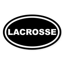 Lacrosse Euro Oval Decal