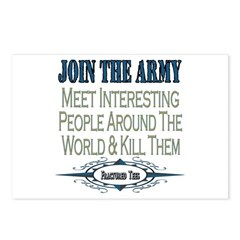Join The Army Postcards (Package of 8)