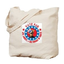 Vote for Min Pin Tote Bag