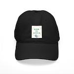 Born To Cross-Stitch Black Cap