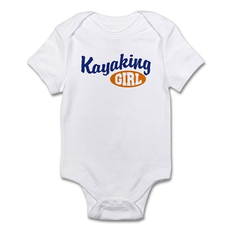 Kayaking Girl Infant Bodysuit