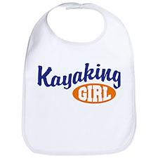 Kayaking Girl Bib