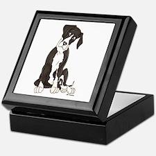 NMTL Tilt Pup Keepsake Box