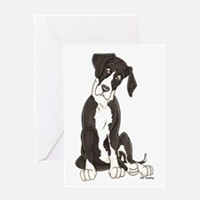 NMTL Tilt Pup Greeting Card