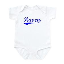 Vintage Raven (Blue) Infant Bodysuit