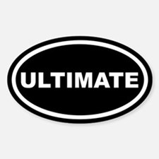 Ultimate Euro Oval Stickers