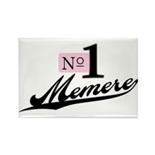 Number One Memere Rectangle Magnet