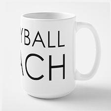 Volleyball Coach Large Mug