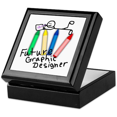 Future Graphic Designer Keepsake Box