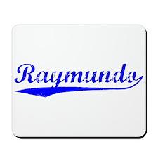 Vintage Raymundo (Blue) Mousepad