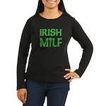 Irish MILF Women's Long Sleeve Dark T-Shirt