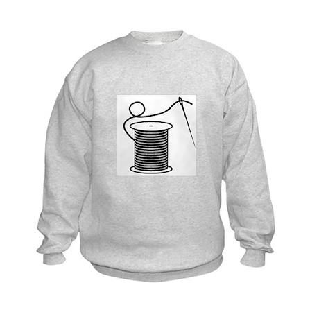Needle and Thread - Sewing Cr Kids Sweatshirt