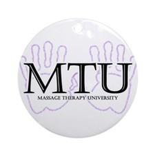 Massage Therapy University Ornament (Round)