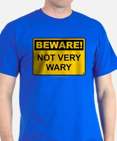 Not Very Wary 'Clean Print' T-Shirt