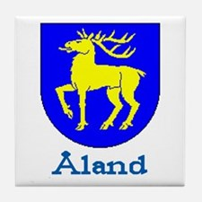 The Åland Store Tile Coaster