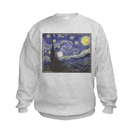 Starry Night Kids Sweatshirt