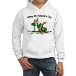 St. Patrick's Day Hooded Sweatshirt