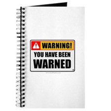 You Have Been Warned 'Clean Print' Journal