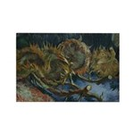 Sunflowers 1 Rectangle Magnet (100 pack)