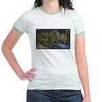 Sunflowers 1 Jr. Ringer T-Shirt