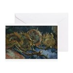 Sunflowers 1 Greeting Cards (Pk of 10)