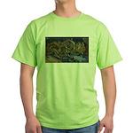 Sunflowers 1 Green T-Shirt