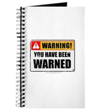 You Have Been Warned 'Aged Print' Journal