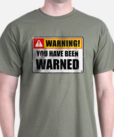 You Have Been Warned 'Aged Print' T-Shirt