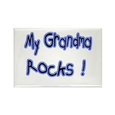 My Grandma Rocks ! Rectangle Magnet