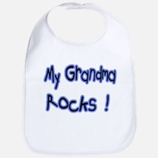 My Grandma Rocks ! Bib
