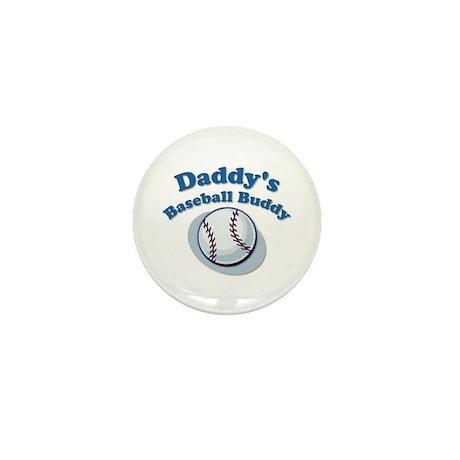 Daddy's Baseball Buddy Mini Button