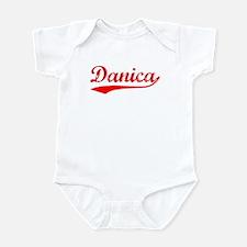 Vintage Danica (Red) Infant Bodysuit