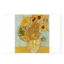 Sunflowers 3 Postcards (Package of 8)