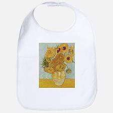Sunflowers 3 Bib